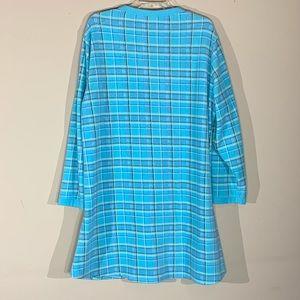 Soft Sensations Intimates & Sleepwear - Soft Sensations Fleece Pajamas - night gown - 2XL